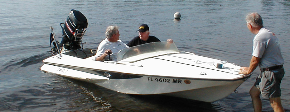 Glasspar G3 Ski Boat